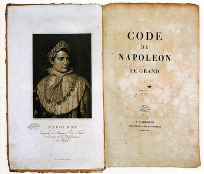 Во Франции вступил в силу Гражданский кодекс, закрепивший завоевания Французской революции