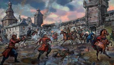 13 ноября в 1708 году войска во главе с Александром Меншиковым штурмом взяли резиденцию Ивана Мазепы
