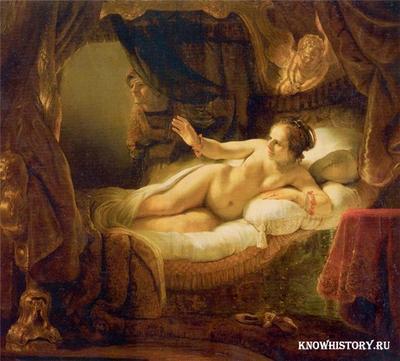 «Даная» — картина Рембрандта из коллекции Эрмитажа, написанная по мотивам древнегреческого мифа о Данае, матери Персея.