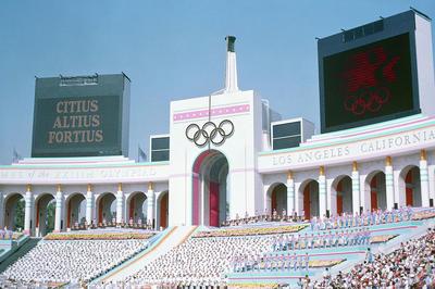 В 1984 году Национальный Олимпийский комитет СССР принял решение о бойкоте летних Олимпийских игр в Лос-Анджелесе