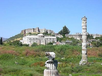 Руины храма Артемиды в наши дни
