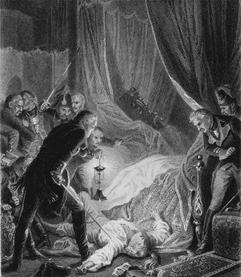 В 1762 году Екатерина Вторая приняла предложение братьев Орловых возглавить заговор против собственного мужа
