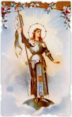 В 1920 году Ватиканом была канонизирована Жанна д`Арк