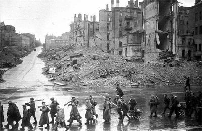 В 1943 году началось освобождение Киева от немецких оккупантов