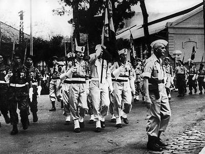 В 1973 году завершилась восьмилетняя Вьетнамская война