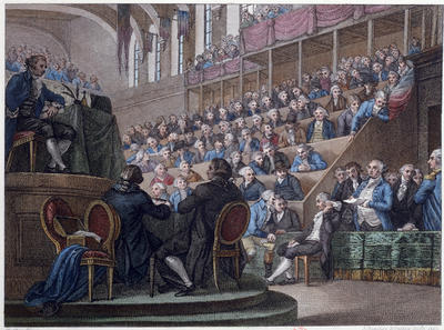 В 1792 году в революционном Париже открылся новоизбранный Национальный конвент