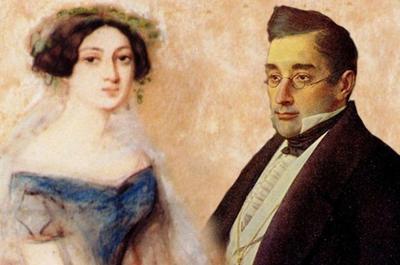 В 1828 году состоялось венчание статского советника Александра Грибоедова и грузинской княжны Нины Чавчавадзе