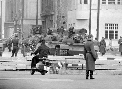 в Берлине произошло очередное обострение ситуации