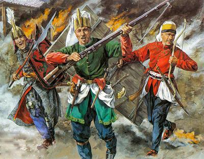 В 1826 году в Константинополе вспыхнуло восстание янычар
