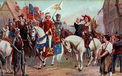 В 1381 году в Англии началось крупнейшее антифеодальное восстание
