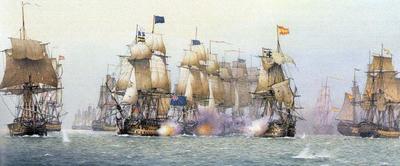 испанского флота «Непобедимая армада»
