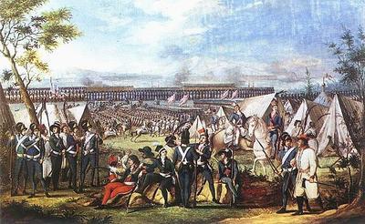 9 апреля в 1794 году в Вильно, вслед за Варшавой, начался вооруженный мятеж поляков, недовольных вторым разделом Речи Посполитой
