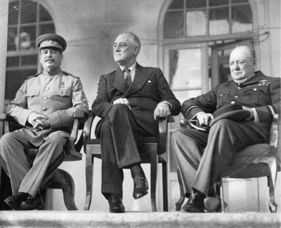 28 ноября в 1943 году прошла тегеранская конференция