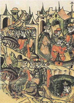 В 1446 году казанские татары напали на город Устюг