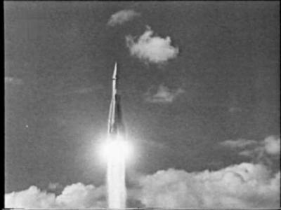 испытание межконтинентальной баллистической ракеты