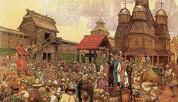 Народное вече, державная дума и верховный собор