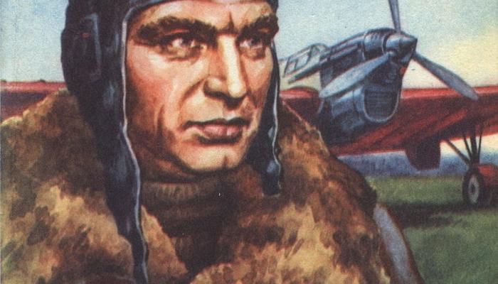 Первый беспосадочный перелет через Северный полюс