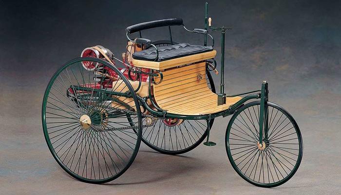 История первых автомобилей