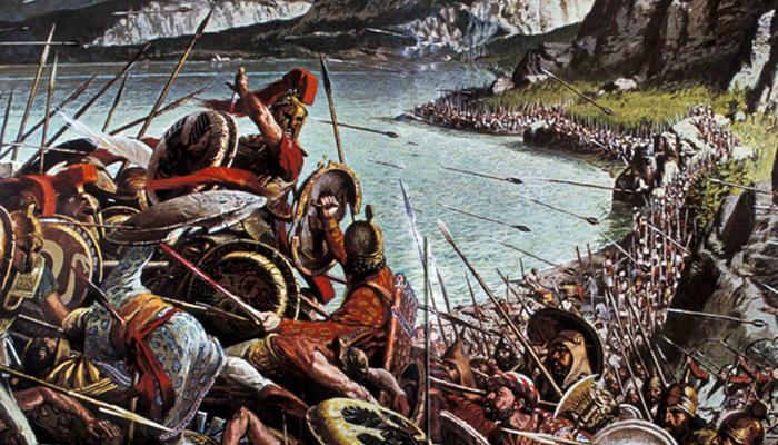 История подвига 300 спартанцев