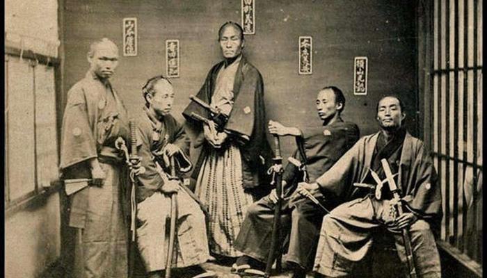 История японских самураев