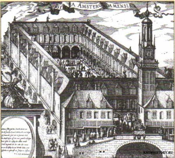 Фондовая биржа возникла в эпоху первоначального накопления капитала.