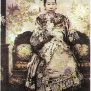 Императрица Цыси. 1903 г.