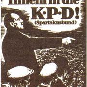 Плакат «Вступайте в КПП» с изображением К. Либкнехта