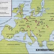 Промышленность в Европе 1850 г.