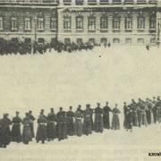 Расстрел рабочих у Зимнего дворца