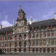 Торговая площадь и ратуша Антверпена