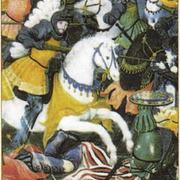 Король Франции Франциск I в битве при Мариньяно