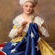 Бетси Росс, американская швея которая, сшила первый американский флаг