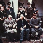 Крымская конференция руководителей трех союзных держав антигитлеровской коалиции