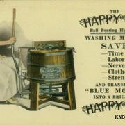 В 1797 году Натаниэль Бриггс из Нью Гемпшира запатентовал стиральную машину