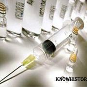 В 1881 году Луи Пастер продемонстрировал действие вакцины против сибирской язвы