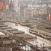 В 1945 году в Москве состоялся исторический Парад Победы советских воинов-победителей
