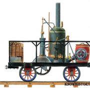 В 1830 году в США прошло соревнование первого паровоза с конным экипажем