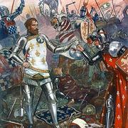 В 1356 году англичане разбили французскую армию во главе с королем Иоанном Добрым