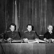В 1959 году в Женеве открылась конференция министров иностранных дел СССР, США, Великобритании и Франции