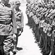 обмундировывались в немецкую форму и обеспечивались оружием
