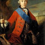В 1742 году Петр III был крещен под именем Петра Федоровича