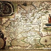 Первая печатная карта Руси