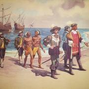 В 1493 году два из трех кораблей первой экспедиции Колумба вернулись в Испанию, привезя в Европу первых индейцев