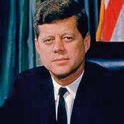 35-й президент США Джон Фицджералд Кеннеди