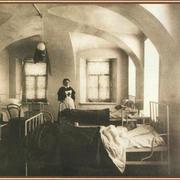 В 1779 году при Обуховской больнице была открыта первая русская психиатрическая лечебница