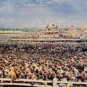 """В 1896 году в Москве на Ходынском поле в честь коронации Николая II были назначены """"народные гуляния"""""""