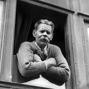В 1928 году Горький вернулся на родину