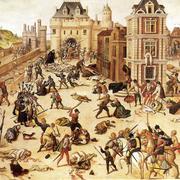 католики вырезали протестантов-гугенотов