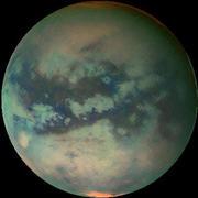 спутник Сатурна - Титан