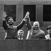 В 1963 году в Москву впервые прибыл кубинский лидер Фидель Кастро